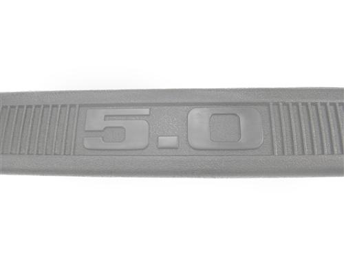 Mustang Scuff Plates Gray  (84-89) 5.0