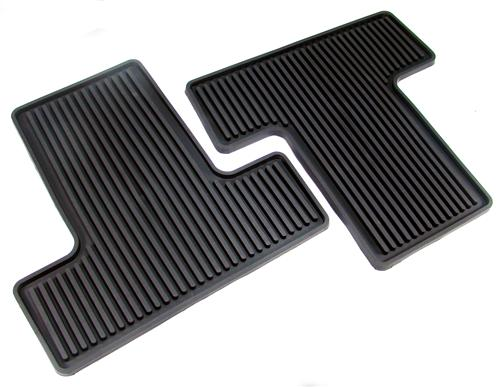Mustang Rubber Floor Mats with Pony Logo (05-09) 3Z6313300A