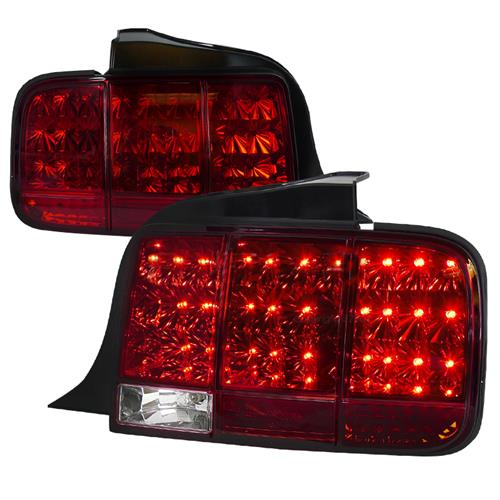 Mustang Sequential LED Tail Light Kit (05-09)
