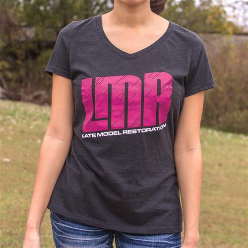 LMR Ladies V-Neck T-Shirt - Small