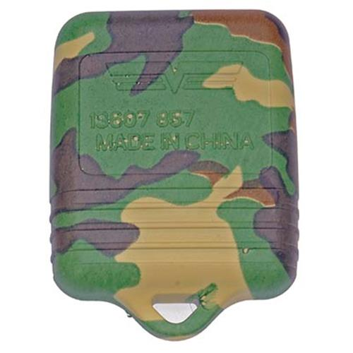 Mustang Green Camouflage Key Fob Case (99-09) 13607GNC