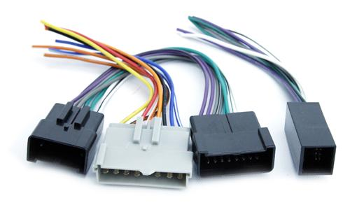 lrs 14409b_3350 mustang radio amp bypass wire (93 00) lmr com Ford Stereo Wiring Color Codes at gsmportal.co