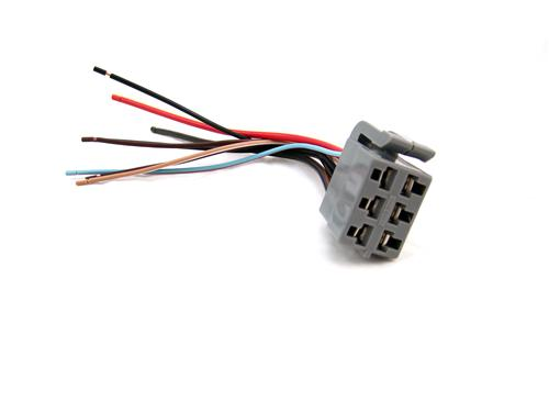 lrs 14489a_1892 mustang headlight switch connector (87 93) lmr com 88 Mustang at crackthecode.co