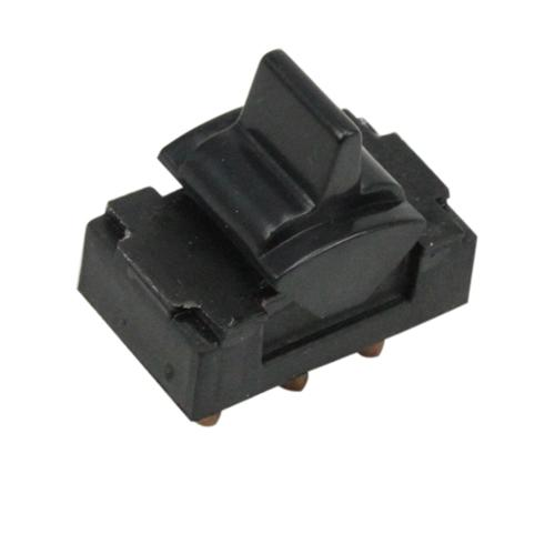 79-86 Mustang LH/RH Black Power Window Switch.   Either photoshop LRS-14529e to be black, or wait for these to come in for picture