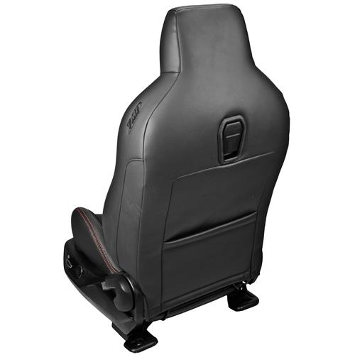 TMI Mustang Sport R Seat Upholstery & Foam Kit  - Black w/ Red Stitching (15-17) 46-78936K-6525-99-RS