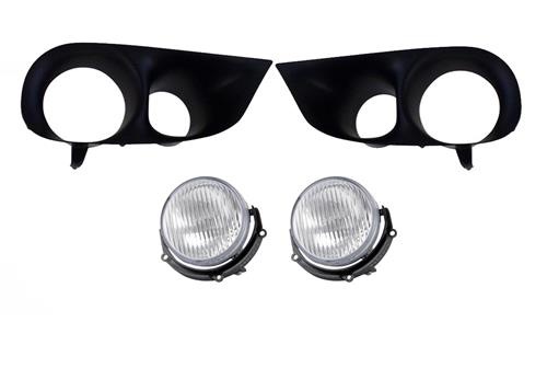 Mustang 99-01 Cobra Fog Light & Bezel Kit (99-04)