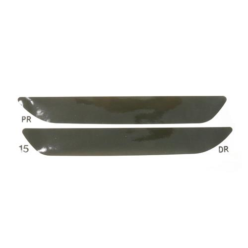 Mustang Smoked Rear Side Marker Tint Kit (15-17)