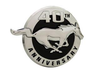 Mustang 40th Anniversary Fender Emblem Right Hand  (2004) R3Z16228AA