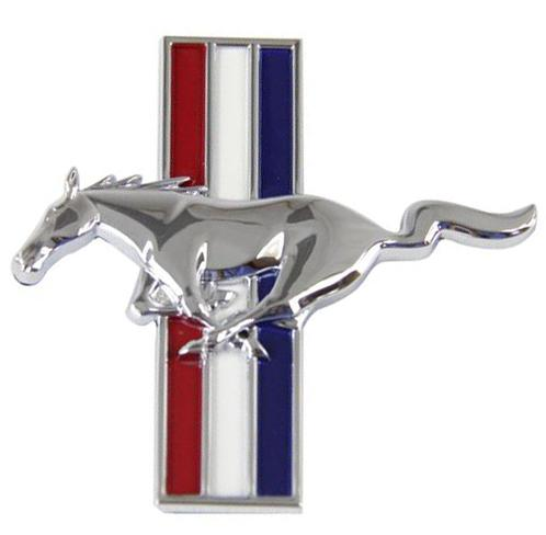 Mustang Running Pony Fender Emblem Badge Driver S Side Lh