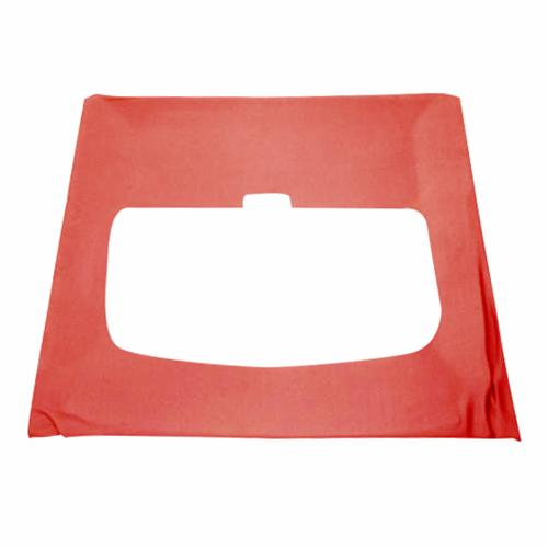 Mustang Cloth Headliner w/ ABS Board Scarlet Red (87-92) Hatchback w/ Sunroof
