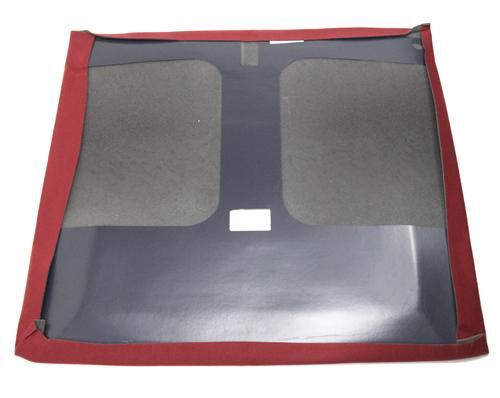Headliner with Abs Board Scarlet Red Cloth Hatchback with T-Tops