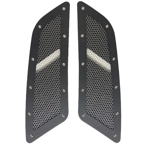 Mustang Speed Mesh Hood Vent Kit (15-16) GT