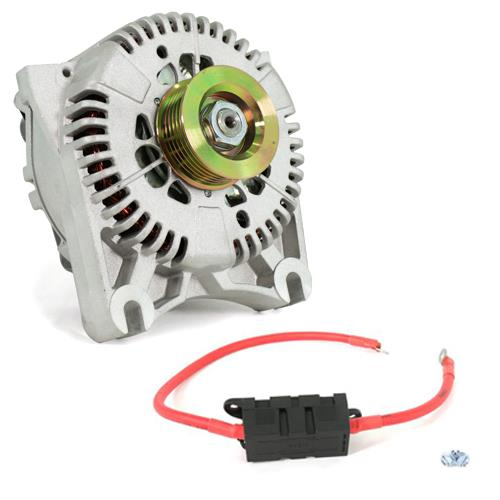 SVE Mustang 130 Amp Alternator & Power Wire Kit (96-98) Cobra
