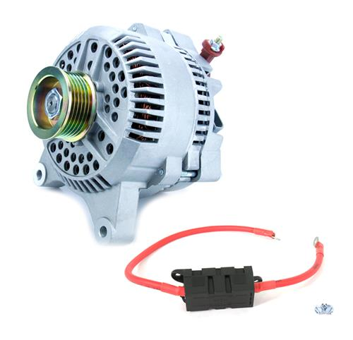 SVE Mustang 130 Amp Alternator & Power Wire Kit (96-98) GT