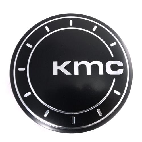 KMC 625 District Wheel Center Cap  - Satin Black