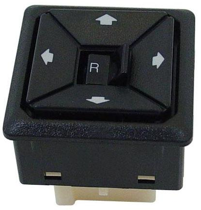Mustang Replacement Power Mirror Switch (87-93) E7ZZ-17676