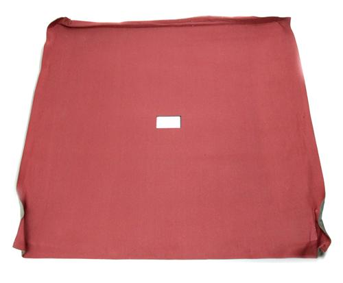 Mustang Headliner with Abs Board Canyon Red Cloth  (85-86) Coupe