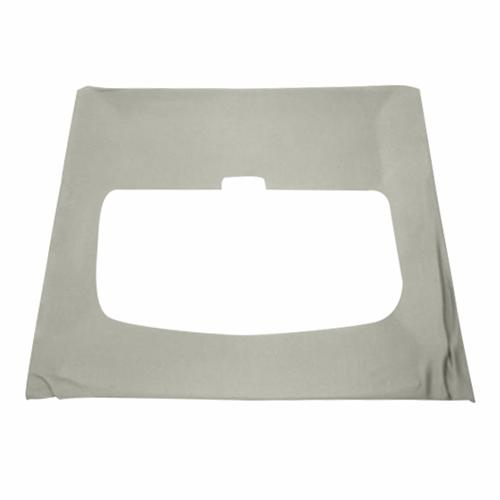 Mustang Cloth Headliner w/ ABS Board Light Gray (84-86) Hatchback w/ Sunroof  - Mustang Cloth Headliner w/ ABS Board Light Gray (84-86) Hatchback w/ Sunroof
