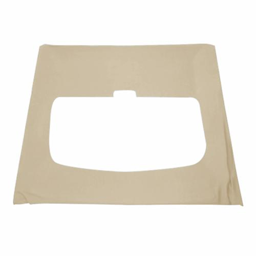 TMI Mustang Cloth Headliner w/ ABS Board Sand Beige (85-89) Hatchback w/ Sunroof