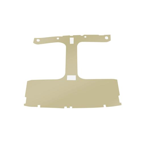 TMI Mustang Cloth Headliner w/ ABS Board Sand Beige (85-88) Hatchback w/ T-Top