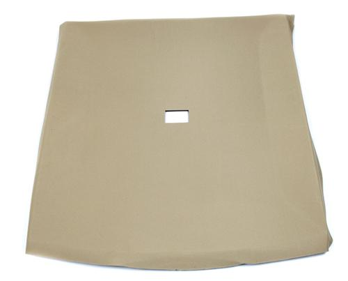 TMI Mustang Headliner with Abs Board Sand Beige Cloth (85-89) Hatchback