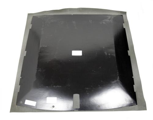 Mustang Headliner with Abs Board Smoke Gray Cloth (87-89) Coupe - Picture of Mustang Headliner with Abs Board Smoke Gray Cloth (87-89) Coupe