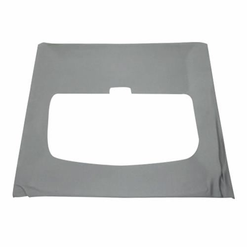 Mustang Cloth Headliner w/ ABS Board Titanium Gray (90-92) Hatchback w/ Sunroof
