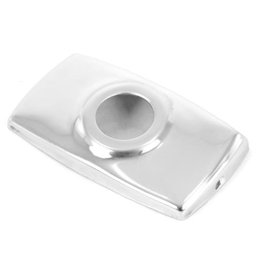 Mustang Antenna Base Cover  - Polished Stainless (79-93) D9ZZ-18927