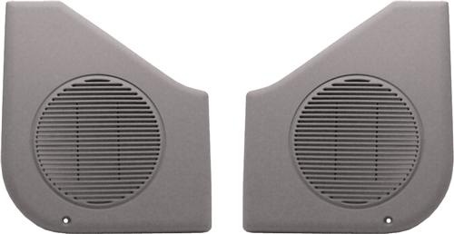 Acme Mustang Door Speaker Grilles, Sold As Pair Titanium Gray (87-93)