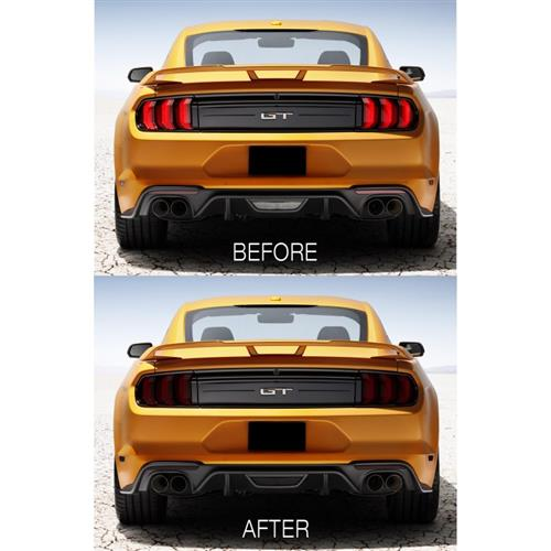 Mustang Front & Rear Complete Light Tint Kit (2018) 18FM_FR
