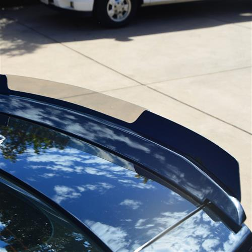 2010-2014 MUSTANG GT/V6 WICKER BILL SPOILER WITHOUT CAMERA WITH RIV NUT GUN