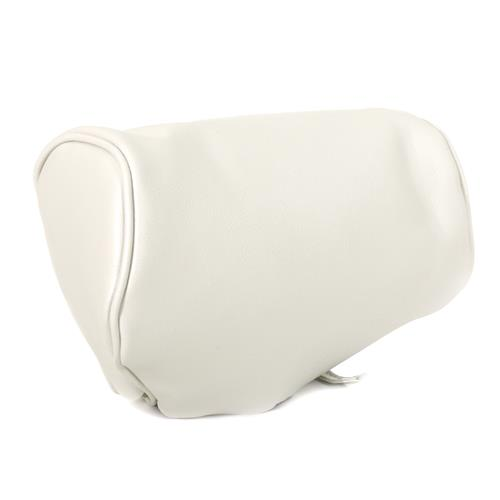 TMI Mustang Headrest Pair w/ Pony Logo White (1993) Limited Edition Convertible 43-7303-965-PONY