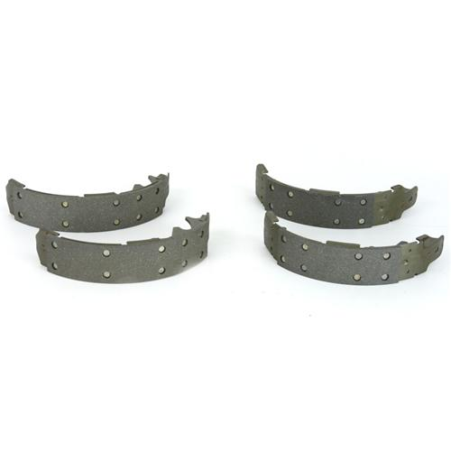 Mustang Rear Drum Brake Shoes - Stock Replacement (79-93)
