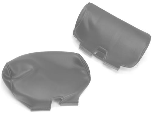 TMI Mustang Large Headrest Pair Medium Graphite (2004) 43-7601-6890