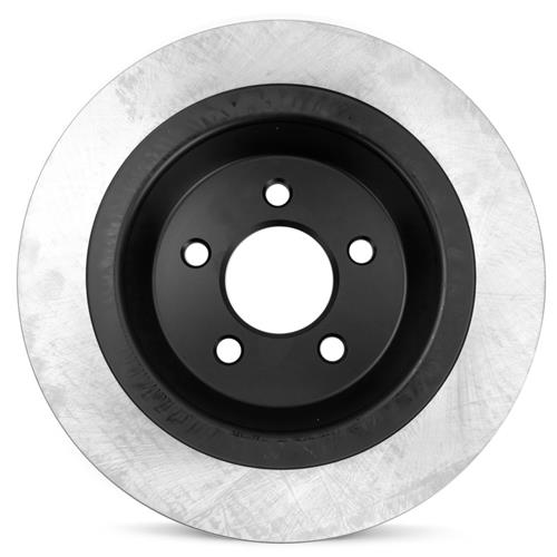 Mustang Premium Rear Brake Rotor  - Base V6/EcoBoost (15-16)