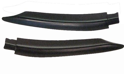 Mustang Door Belt Molding Extensions (88-93) Convertible