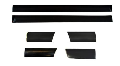 Mustang Body Side Molding Set, 6 Pc (87-93)