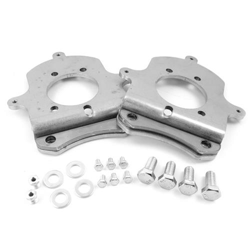 Mustang Rear Disk Brake Caliper Adapter Brackets For 94-04 GT/V6 Calipers (79-93) - Mustang Rear Disk Brake Caliper Adapter Brackets For 94-04 GT/V6 Calipers (79-93)