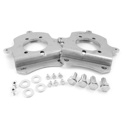 Mustang Rear Disk Brake Caliper Adapter Brackets For 87-88 Thunderbird Turbo Coupe Calipers (79-93) - Mustang Rear Disk Brake Caliper Adapter Brackets For 87-88 Thunderbird Turbo Coupe Calipers (79-93)