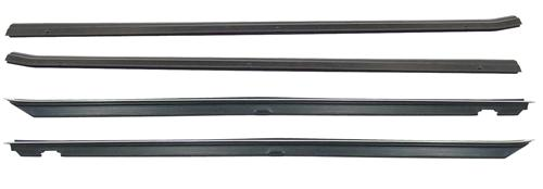 Mustang Inner & Outer Door Belt Weatherstrip Kit (87-93)