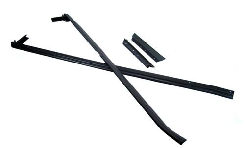Mustang Outside Door And Quarter Belt Weatherstrip Kit (88-93) Convertible