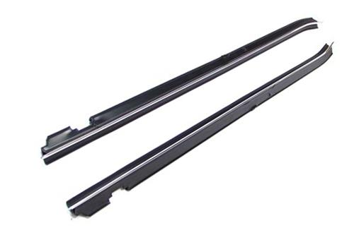 Mustang Inner Door Belt Weatherstrip Pair (88-93) Convertible