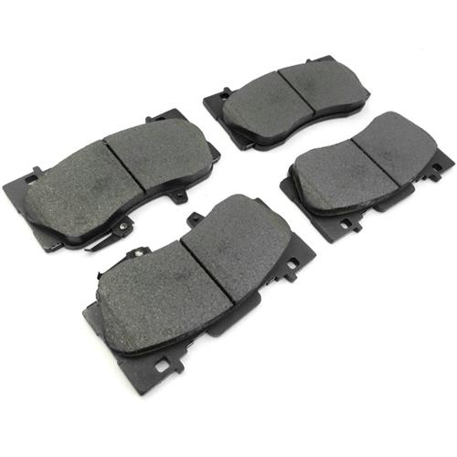 Mustang Front Brake Pads - Stock Replacement  - Base GT/EcoBoost PP (15-16)