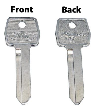 Mustang Pony Key Blank Set (79-93)
