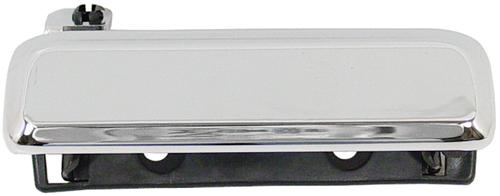 Mustang Outer Door Handle, RH Chrome (79-93)