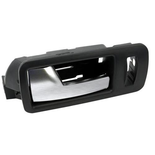Mustang lh inner door handle black w aluminum handle 05 14 for 05 mustang door panels
