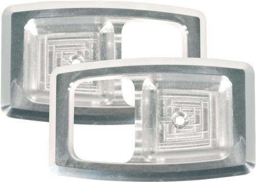 Mustang Inner Door Handle Bezels Billet  (79-93) 1052-01