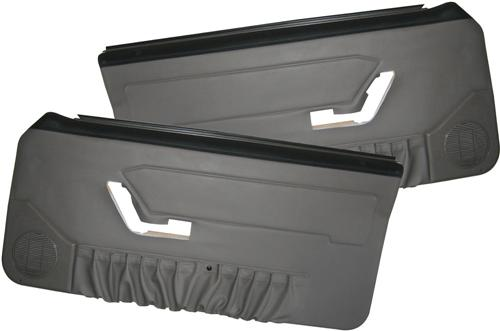 Acme Mustang Deluxe Panels for Hardtop w/ Power Windows Opal Gray (1993)