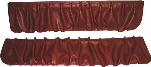 TMI Mustang Door Panel Map Pockets Scarlet Red (90-92) 10-7300-971