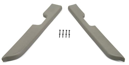 Mustang Door Armrest Pad Kit, Power Windows Titanium (87-93)